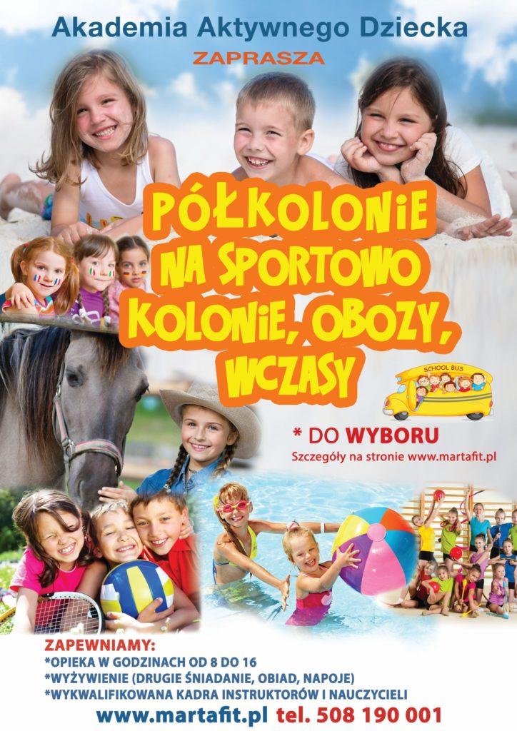 Polkolonie Na Sportowo W Ostrowie Wlkp Kolonie Organizacja Imprez